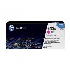 HP Toner 650A Magenta / Vermelho Original CP5525n - CE273A