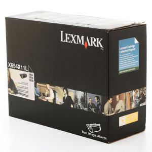 Toner da impressora x658 Original X656 Preto – X654X11L / X654X11B Lexmark
