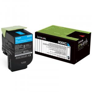 Toner Lexmark 80C8XC0 808XC  Original   Em 12x Sem Juros e Frete Grátis