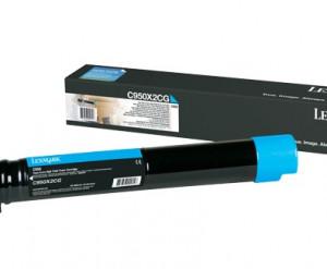 C950X2CG Toner Lexmark Original Em 12x Sem Juros e Frete Grátis