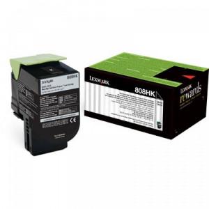 Toner Lexmark 80C8HK0 808HK Original  Em 12x Sem Juros e Frete Grátis
