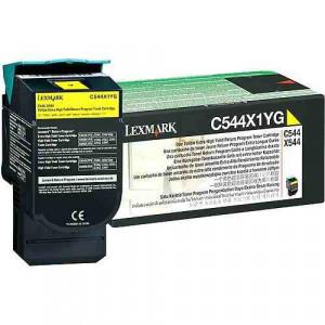 Toner Original C544dn Amarelo – C544X1YG Lexmark