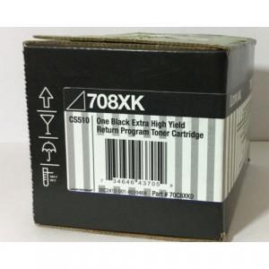 Toner Lexmark 70C8XK0 708XK  Original CS510  Em 12x Sem Juros e Frete Grátis