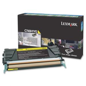 Toner Lexmark C748H1YG  Original C748E Em 12x Sem Juros e Frete Grátis